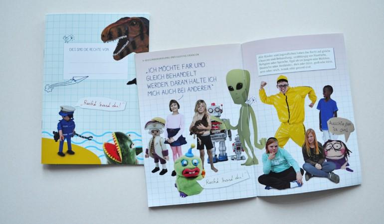 Folder für den Kinderschutzbund