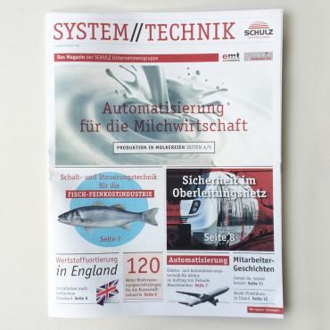 Neue Ausgabe der Hauszeitung für Schulz Systemtechnik