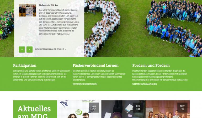 Ein Gymnasium macht Internet-Schule